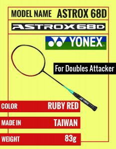 Yonex Astrox 38S , 38D , 39 , 68S , 68D , 69 : Are They