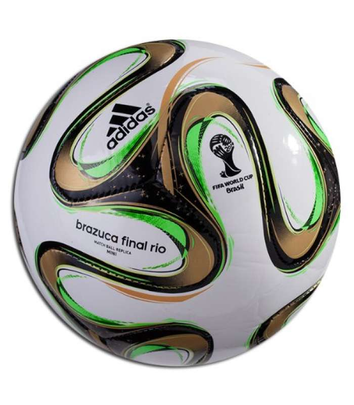 ~Out of Stock~ Adidas Brazuca 2014 Final Mini 2014 Ball FIFA World Cup Brazil Size 1