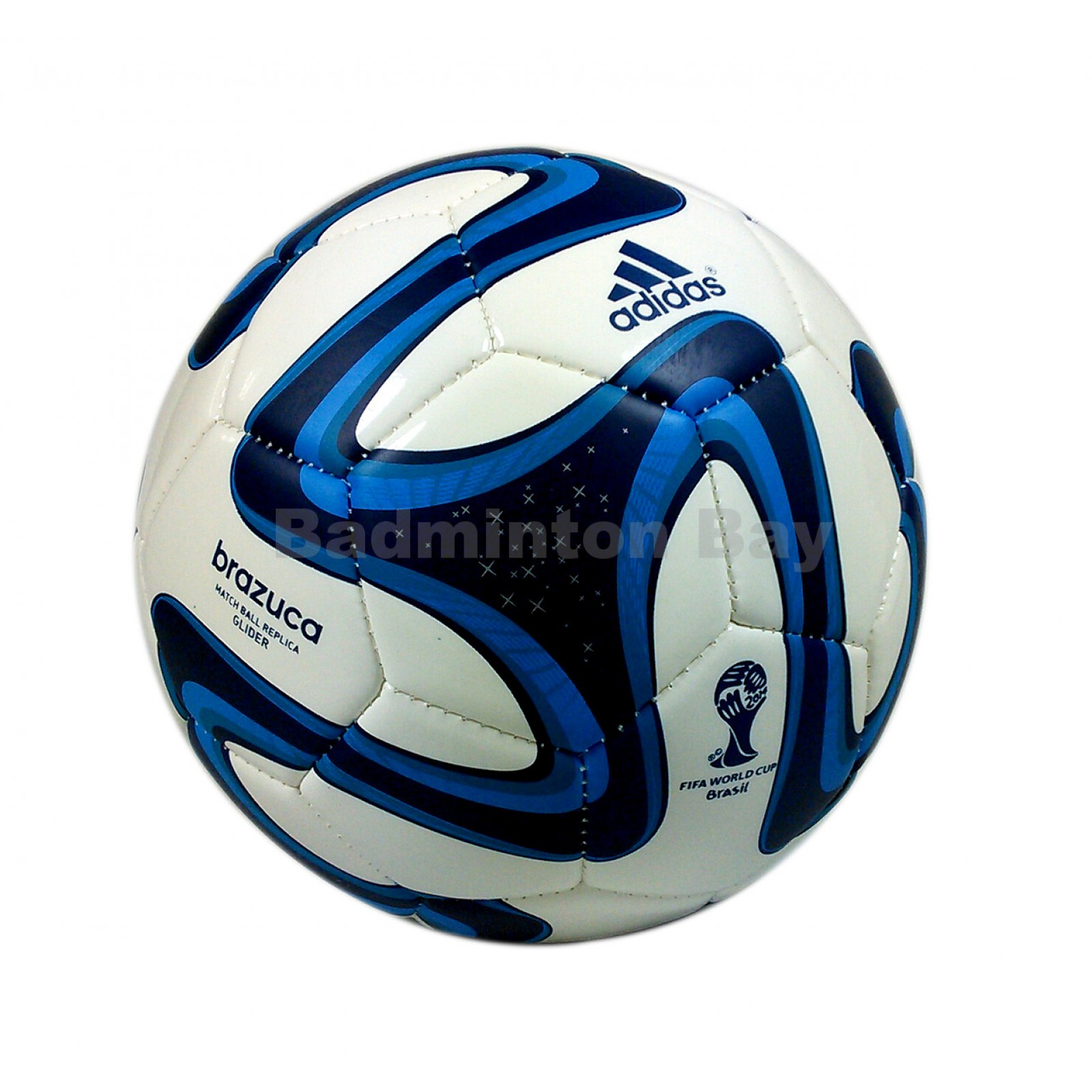 57be70de66 ~Out of stock Adidas Brazuca 2014 Glider Blue Football Match Ball Replica  FIFA Size 5