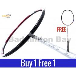 Buy 1 Free 1: Apacs Lethal 90 Badminton Racket (3U)