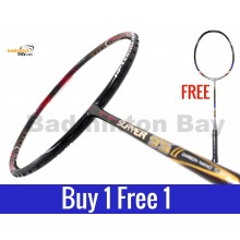 Buy 1 Free 1: Apacs Slayer 95 II Badminton Racket (5U)
