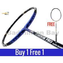 Buy 1 Free 1: Apacs Stardom Pro Badminton Racket (4U)