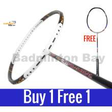 Buy 1 Free 1: Apacs Tweet 8000 International Badminton Racket (3U)