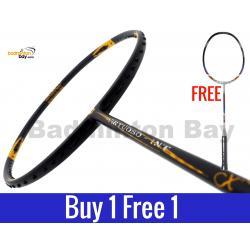 Buy 1 Free 1: Apacs Virtuoso INT Badminton Racket (4U)