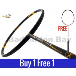 Buy 1 Free 1: Apacs Virtuoso INT Badminton Racket (4U)