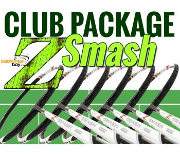 Club Package Z-Smash - 6 pieces rackets : Abroz Nano Power Z-Smash Badminton Racket (6U)