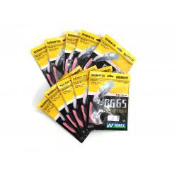 10 pieces Pink Color Yonex BG65Ti (Titanium) Badminton Strings
