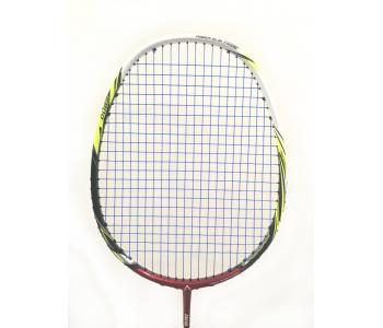 30% OFF Abroz Nano Power Z-Light Badminton Racket (6U) Strung with Blue Abroz DG67 Power String @ 21 lbs