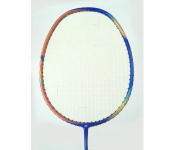 15% OFF Yonex Astrox FB Flash Boost Blue Orange AXFB Badminton Racket (F5) Strung with Yellow Yonex BG66 Ultimax String at 26 lbs