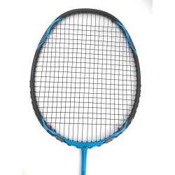 25% OFF Yonex Voltric 1DG Vivid Blue Durable Grade Badminton Racket VT1DG (3U-G5) Strung With Black Yonex BG65 string @ 23 lbs