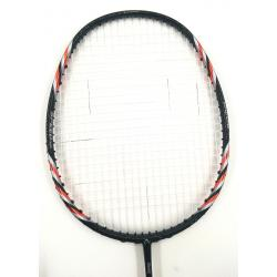 30% OFF (B) Abroz Nano 9900 Power Badminton Racket (5U) Strung with White Yonex BG 65 Titanium String @ 25 lbs Slight Paint Defect (refer picture)