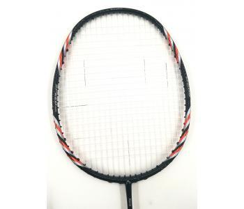 30% OFF (B) Abroz Nano 9900 Power Badminton Racket (5U) Strung with White Yonex BG 65 Titanium String @ 25 lbs Slight Paint Defect (refer picture)
