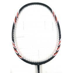 30% OFF (C) Abroz Nano 9900 Power Badminton Racket (5U) Strung with White Abroz DG67 Power String @ 24 lbs Slight Paint Scratch (refer picture)
