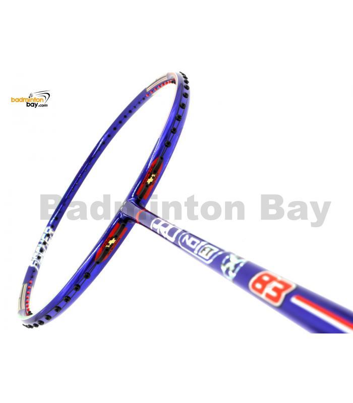 Fischer Pro NO. 1 FT83 Chrome Royal Blue Badminton Racket (4U-G6)