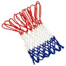 GTO Red Blue White  5mm Braided Quality Basketball Nylon Net In Polybag