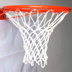 GTO All-white Tournament Grade GT45 High Quality Basketball Nylon Net