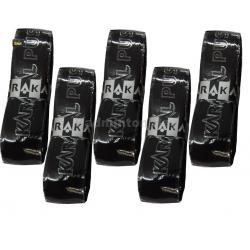 Karakal PU Super Replacement Grip (5 pieces in Black Colour )