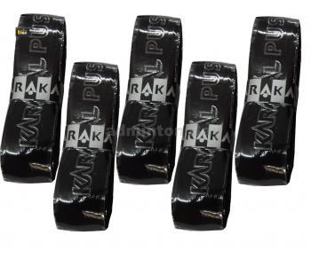 Karakal PU Super Replacement Grip (5 pieces in Black Colour )