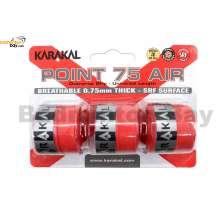 Karakal Point 75 Air Grip X3 Overwrap Replacement Overgrip (3 pieces)
