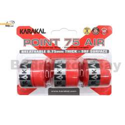 Karakal Point 75 Air Grip X3 Overwrap Replacement Overgrip (3 pieces)