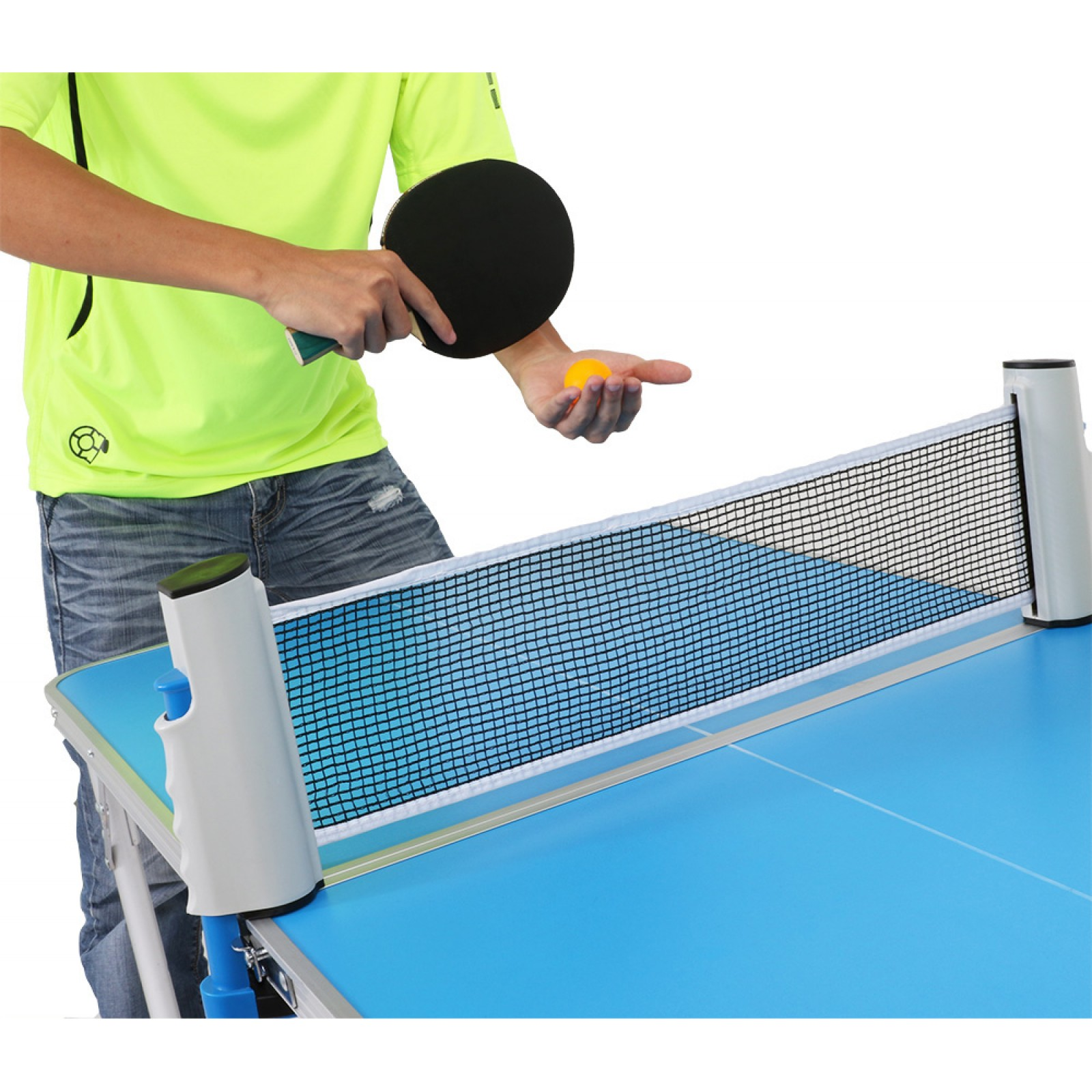 abroz mini table tennis ping pong table for kids and. Black Bedroom Furniture Sets. Home Design Ideas