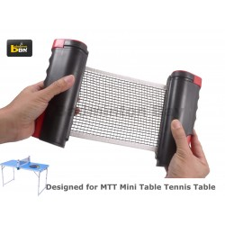 Abroz Retractable Mini Ping Pong Net Accessory for Mini Ping Pong Table