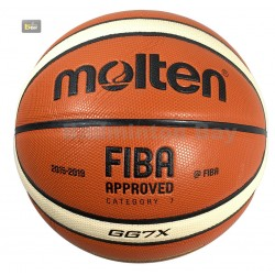 ~Out of stock NEW Molten GG7X Basketball (BGG7X) Composite Leather FIBA Approved Indoor Outdoor