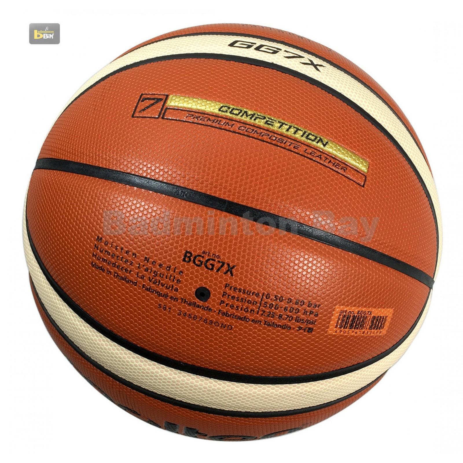 NEW Molten GG7X Basketball (BGG7X) Composite Leather FIBA ...