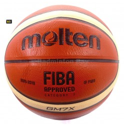 ~Out of stock Molten GM7X Basketball (BGM7X) Composite Leather FIBA Approved Size 7