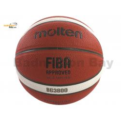 Molten B7G3800 (BG3800 Size 7) Basketball Composite Leather FIBA Approved Indoor Outdoor