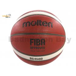 Molten B7G4500 (BG4500 Size 7) Basketball Composite Leather FIBA Approved Indoor Use