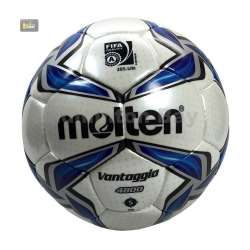~Out of stock Molten F5V4800 Football VANTAGGIO White Blue Size 5 FIFA