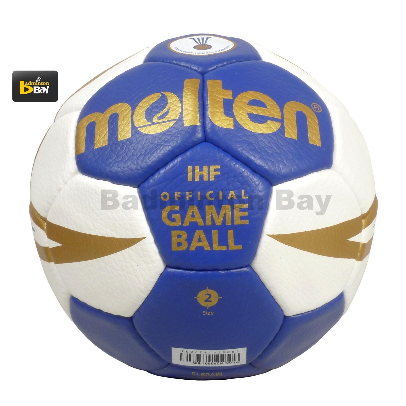 Molten H3X5001-BW H2X5001-BW Handball New White Blue Color ...