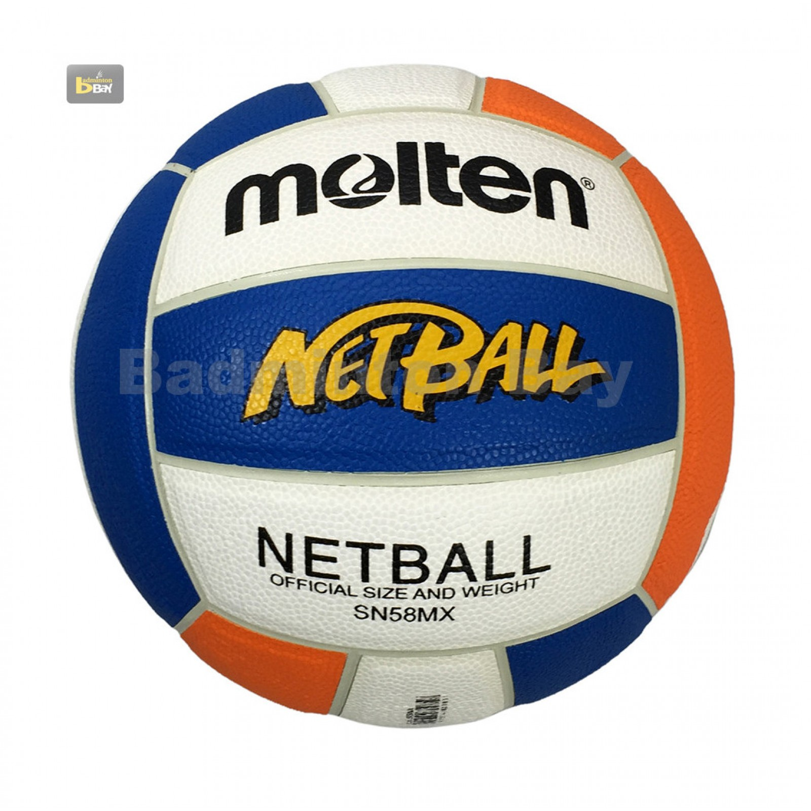 ~Out of stock Molten SN58MX Netball Ball Synthetic Leather ...
