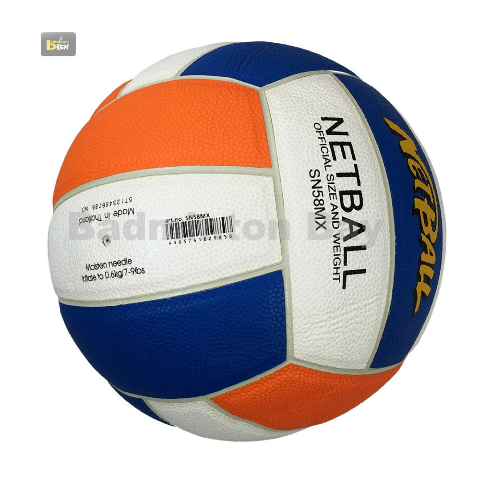 Out of stock Molten SN58MX Netball Ball Synthetic Leather Size 5