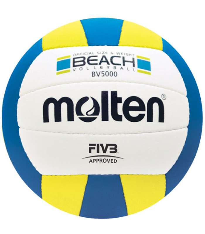 Molten Elite BV5000 Beach Volleyball FIVB Approved, Official Outdoor