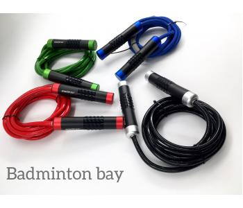Angtop Jump Rope Heavy Bearing Aluminium Handle PVC Skipping Rope with Bag