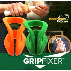 2 Pieces Gripfixer Grip Corrector Training Tool For Effective Coaching To Correct Finger Placement On Badminton Handle