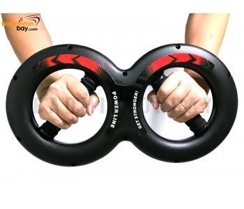 Rotating Forearm Grip Arm Strengthener Wrist Power
