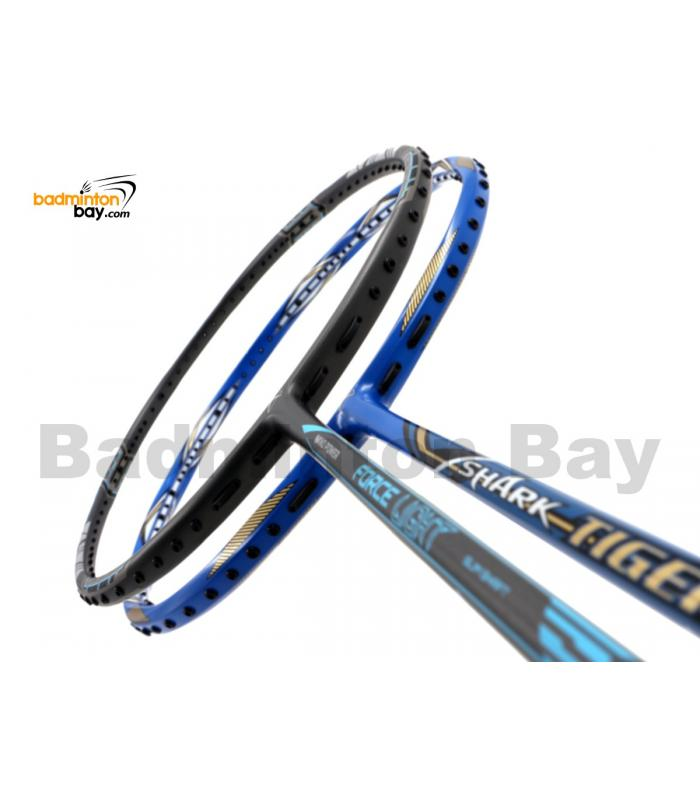2 Pieces Deal: Abroz Nano Power Force Light + Abroz Shark Tiger Badminton Racket