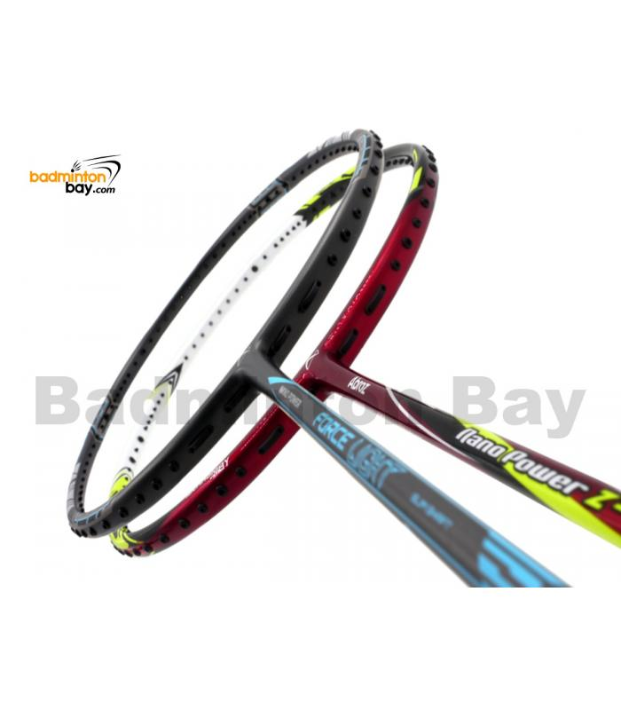 2 Pieces Deal: Abroz Nano Power Force Light + Abroz Nano Power Z-Light Badminton Racket