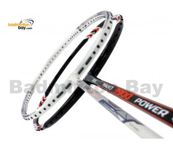 2 Pieces Deal: Abroz Shark Great White + Abroz Nano 9900 Power Badminton Racket