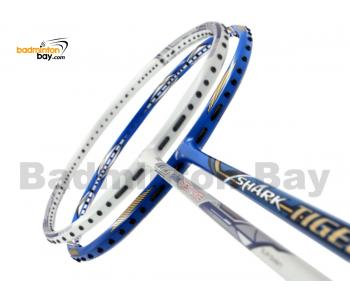 2 Pieces Deal: Abroz Shark Great White + Abroz Shark Tiger Badminton Racket