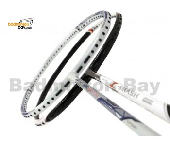 2 Pieces Deal: Abroz Shark Great White + Abroz Nano Power Z-Smash Badminton Racket
