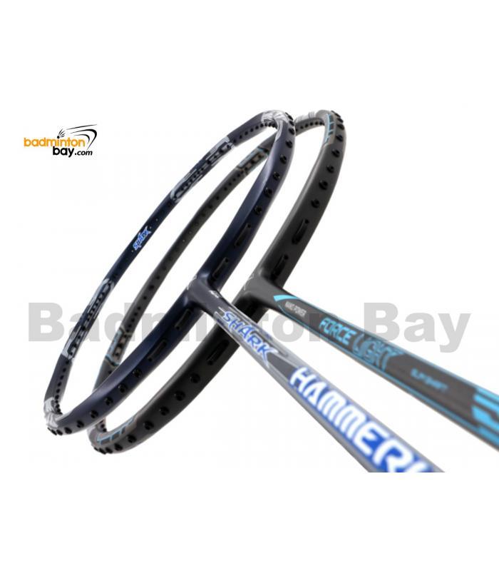 2 Pieces Deal: Abroz Shark Hammerhead + Abroz Nano Power Force Light Badminton Racket