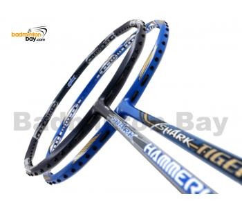 2 Pieces Deal: Abroz Shark Hammerhead + Abroz Shark Tiger Badminton Racket