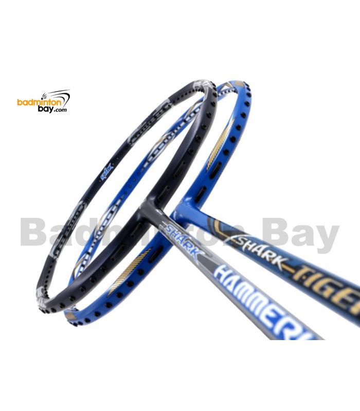 2 Pieces Deal: Abroz Shark Hammerhead + Abroz Shark Tiger Badminton Racket