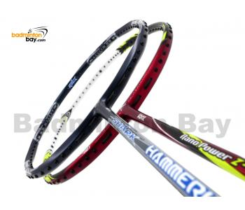 2 Pieces Deal: Abroz Shark Hammerhead + Abroz Nano Power Z-Light Badminton Racket
