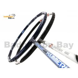 2 Pieces Deal: Abroz Shark Hammerhead + Abroz Nano Power Z-Smash Badminton Racket