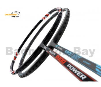 2 Pieces Deal: Abroz Nano 9900 Power + Abroz Nano Power Force Light Badminton Racket
